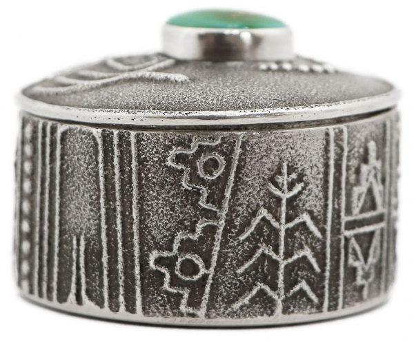 Joel Pajarito Santo Domingo Jewelry Box