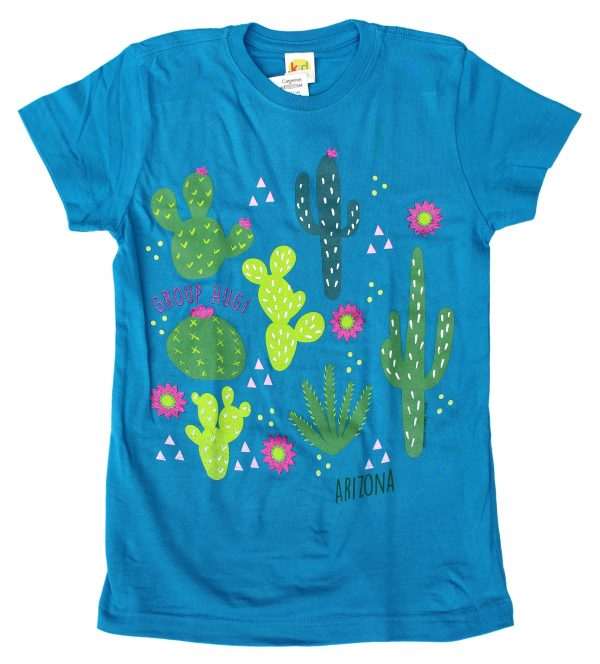 2562 - Youth Cactus Flowers T-Shirt