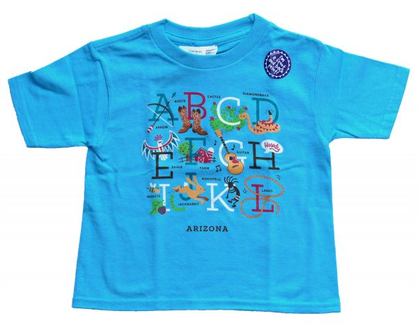 Arizona Alphabetic Letters Toddler T-shirt
