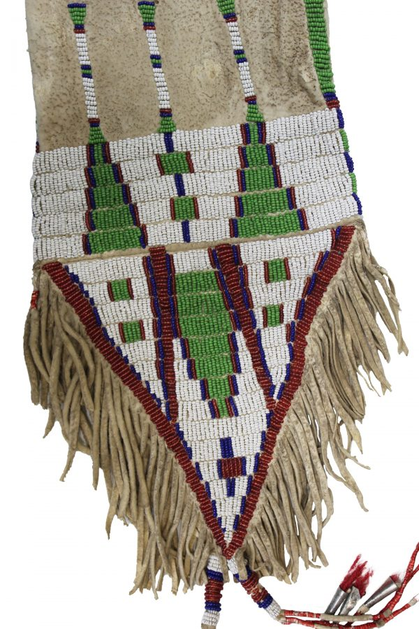 Plains Indian Beaded Pipe Bag
