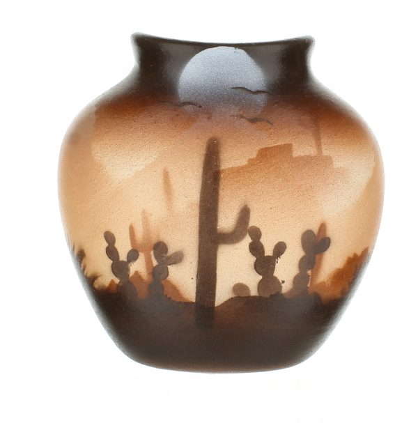 Brown Sonora Desert Sm Pillow Vase