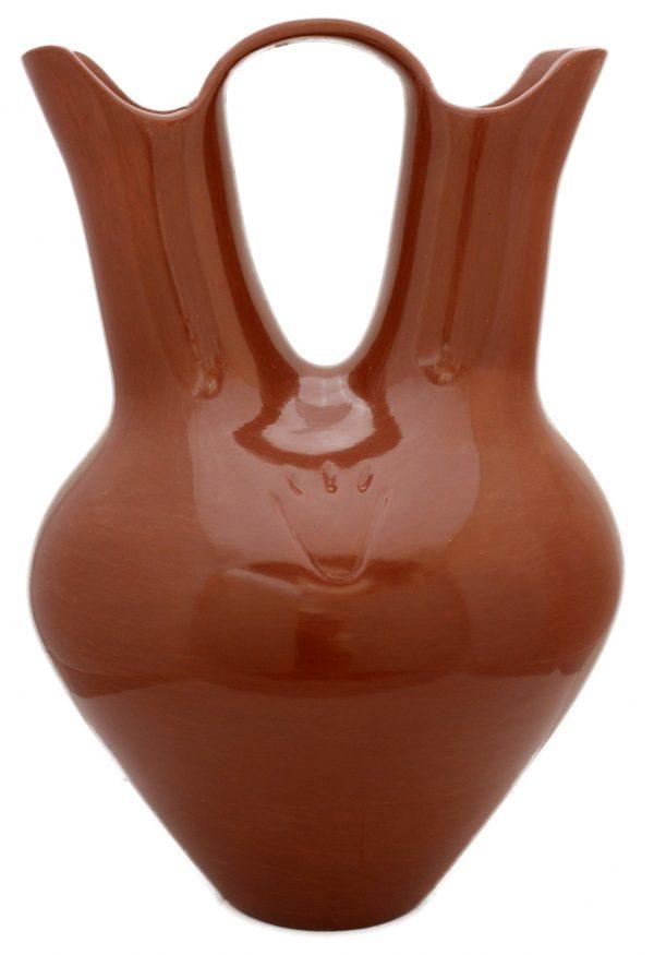 Santa Clara Redware Wedding Vase