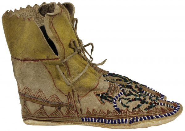 Apache Beaded Moccasins