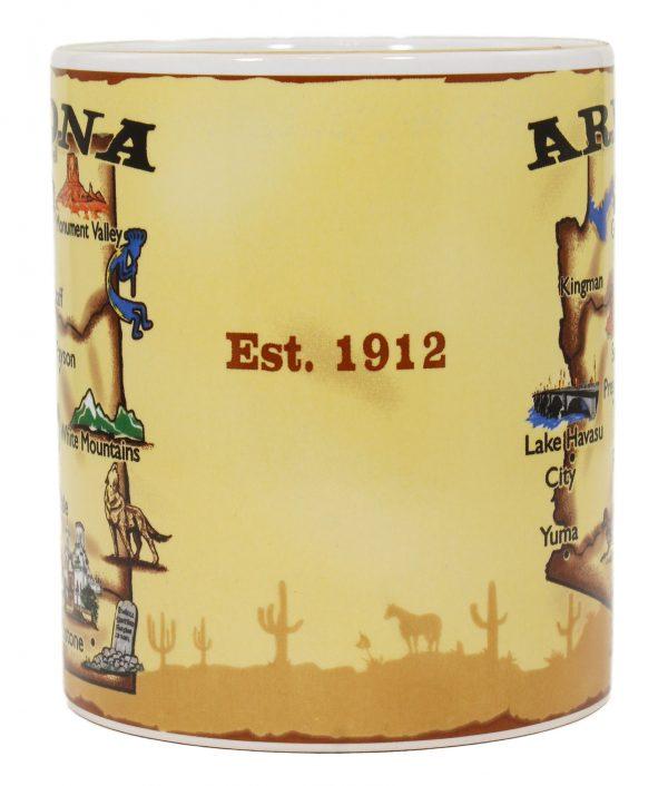 Arizona Map Mug