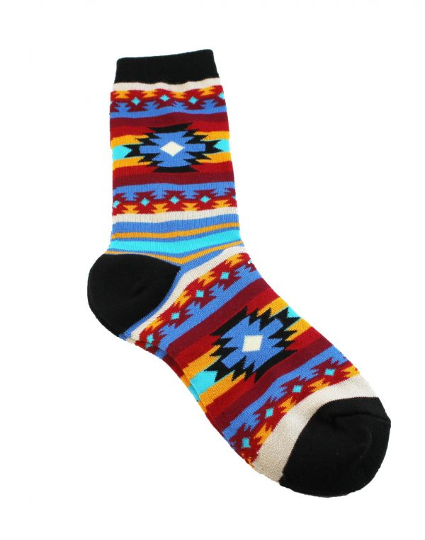 Southwest Blanket Socks