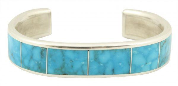 Zuni Turquoise Inlay Bracelet