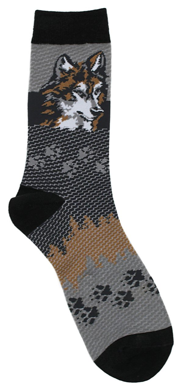 Wolf Head Socks
