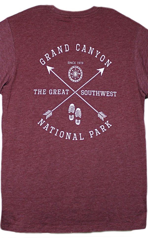 Grand Canyon Twin Arrow Compass Long Sleeve Shirt