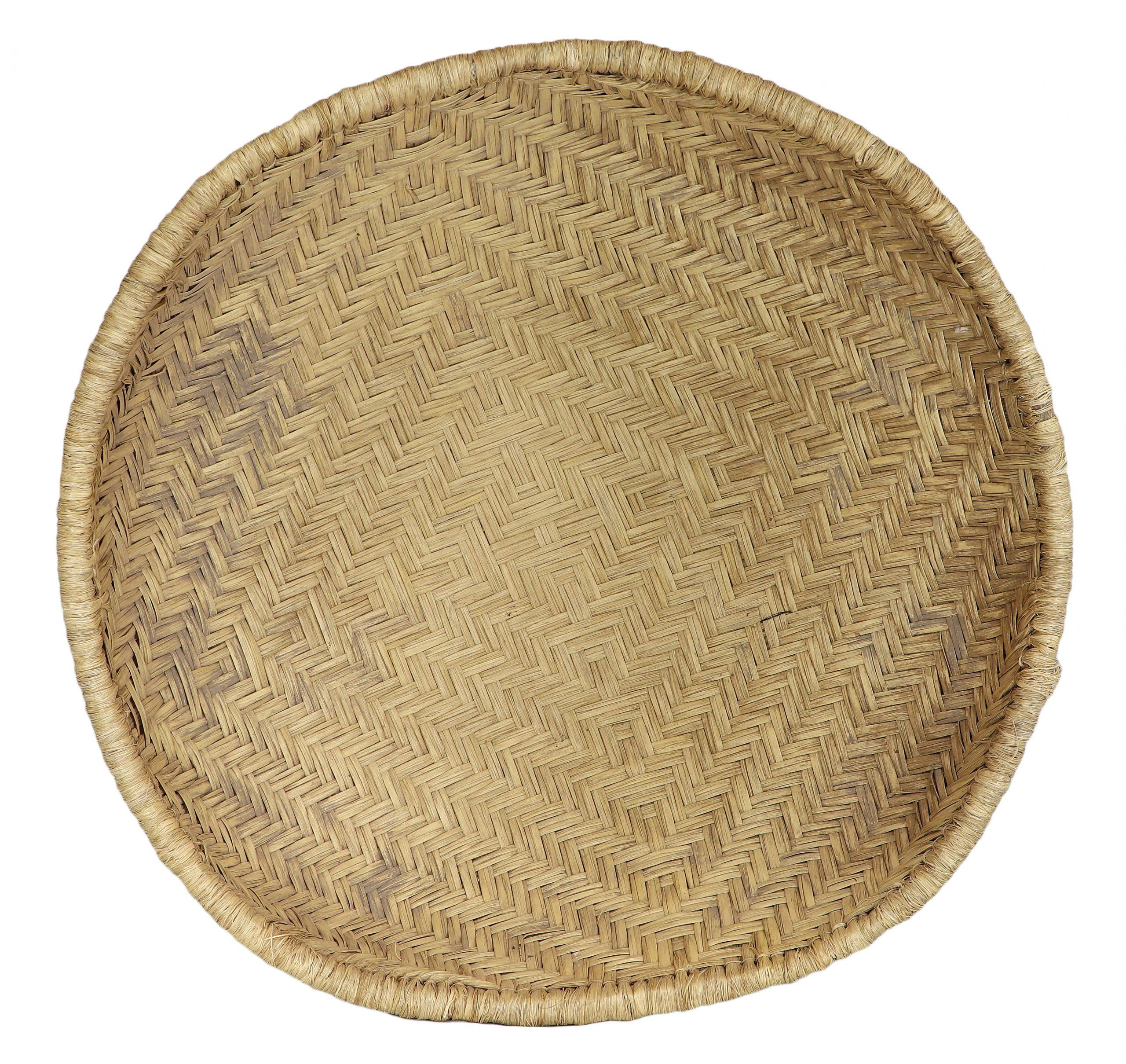 Antique Hopi Wicker Basket Cameron
