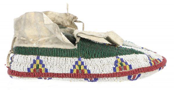 Antique Lakota Sioux Moccasins