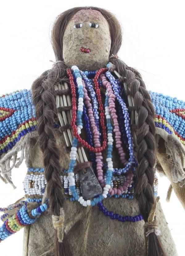 Lakota Sioux Beaded Doll