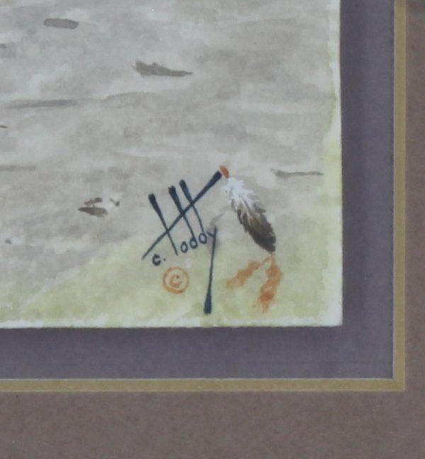 Calvin Toddy Painting