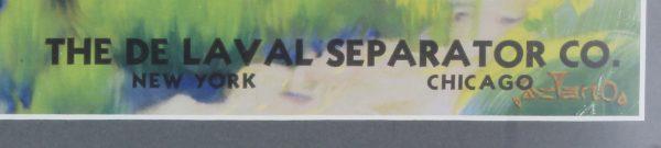 De Laval Separator Co. Print
