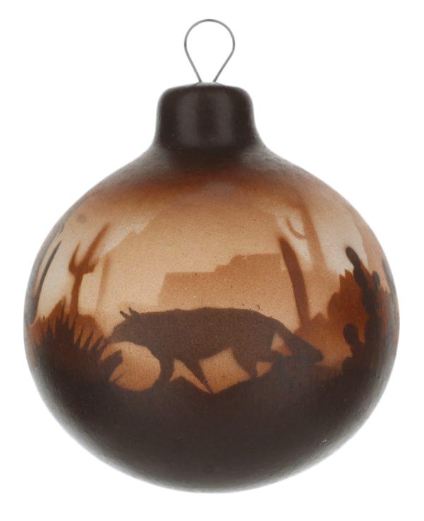 Brown Sonora Desert Ornament