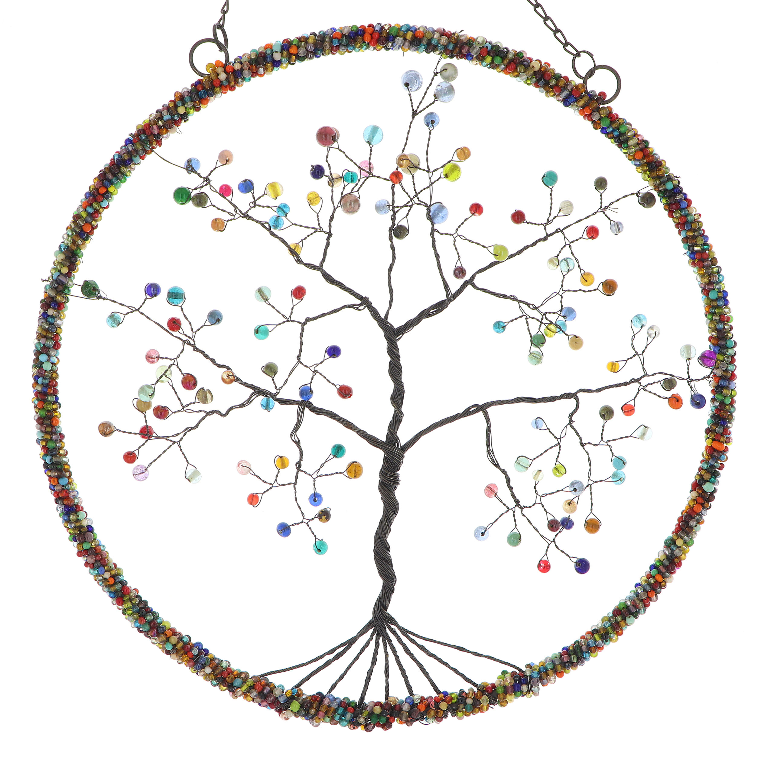 Colorful Tree of Life Wall Art