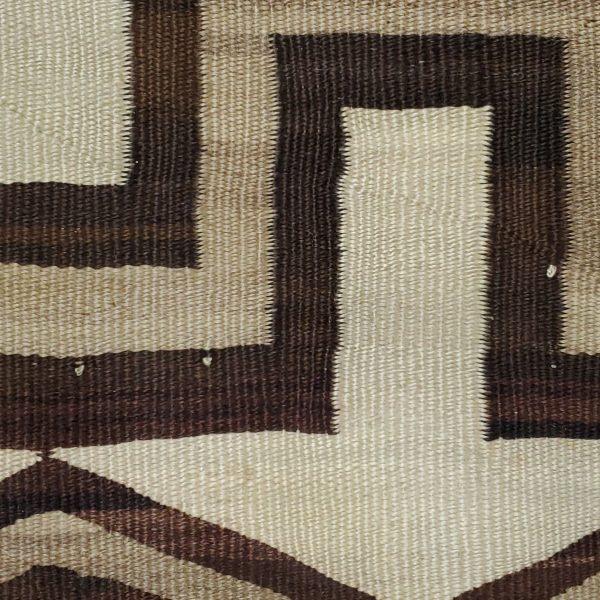 A1690 - Navajo Handwoven Transitional Rug