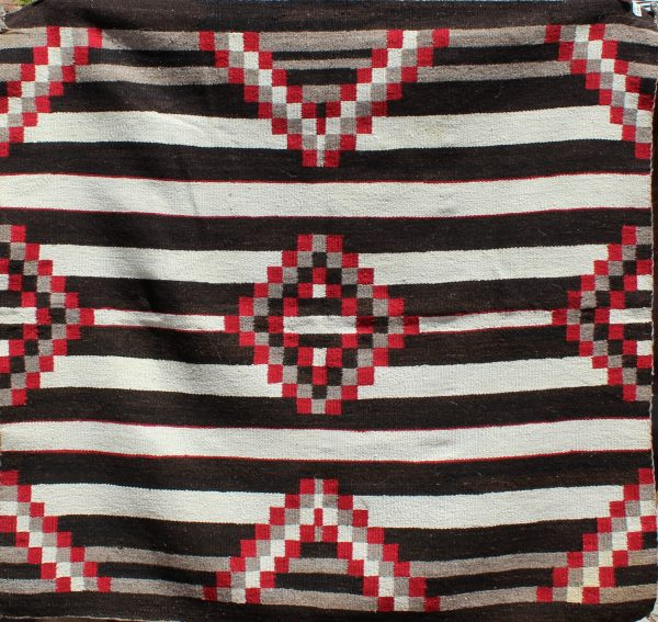 Navajo Handwoven Third Phase Chief's Blanket