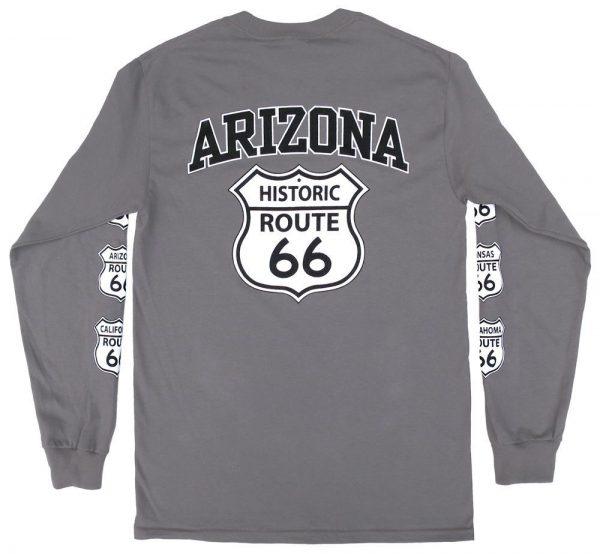 Arizona Historic Route 66 Long Sleeve Shirt