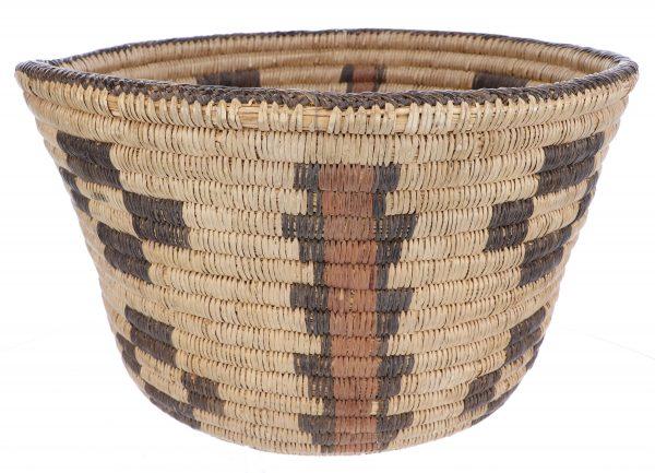 Antique Pima Polychrome Basket