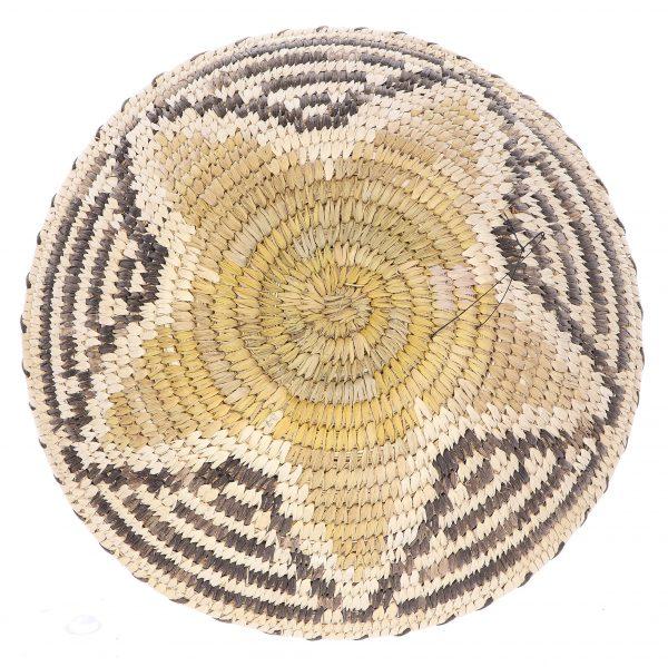 Tohono O'Odham Polychrome Star Basket