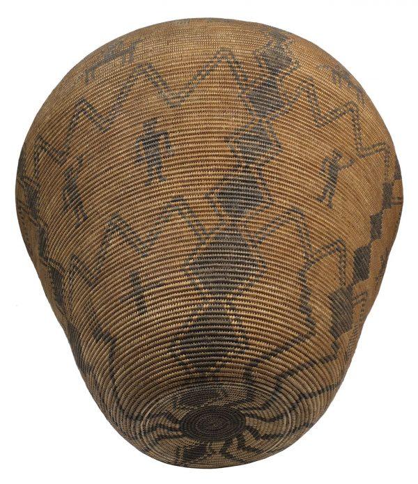 Antique Apache Olla Basket