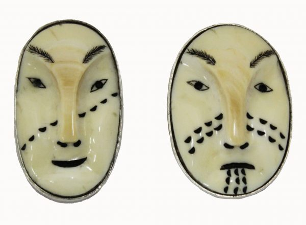 Denise Wallace Fossil Tooth Earrings