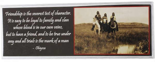 In The Land of the Sioux Bookmark