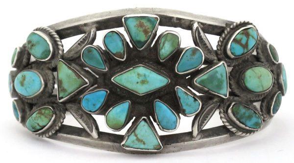 OJ624 - Old Pawn Zuni Bracelet