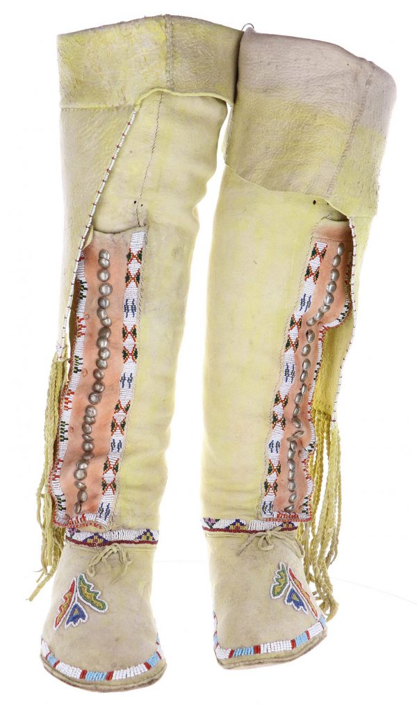 Women's Antique Beaded Kiowa Boots
