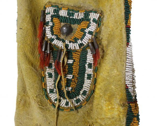 Hidatsa Pipe Bag and Strike-A-Light