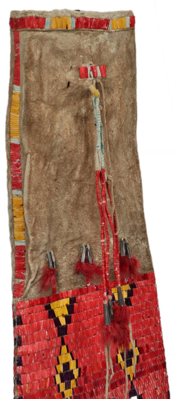 Assiniboine Quilled Pipe Bag