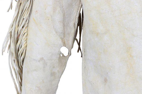 Comanche Beaded Hide Shirt