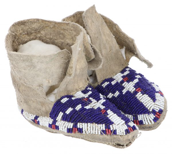 Arapaho Child's Moccasins