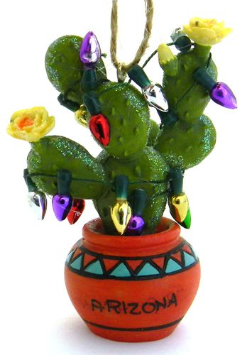CO902 - Prickly Pear with Lights Ornament