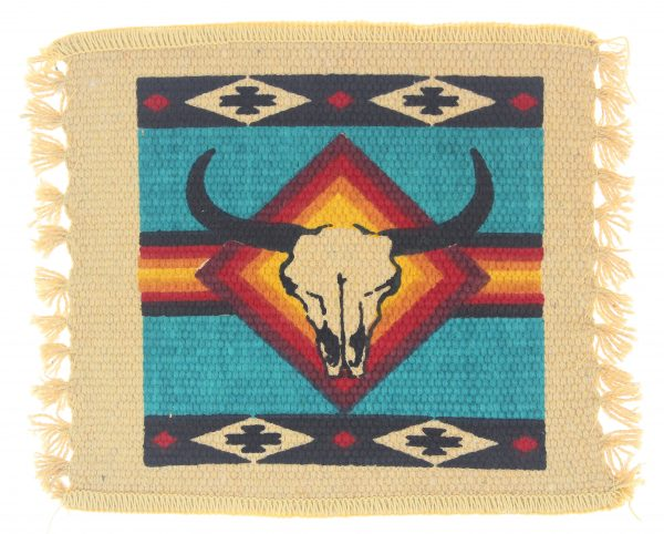 South West Steer Skull Coaster
