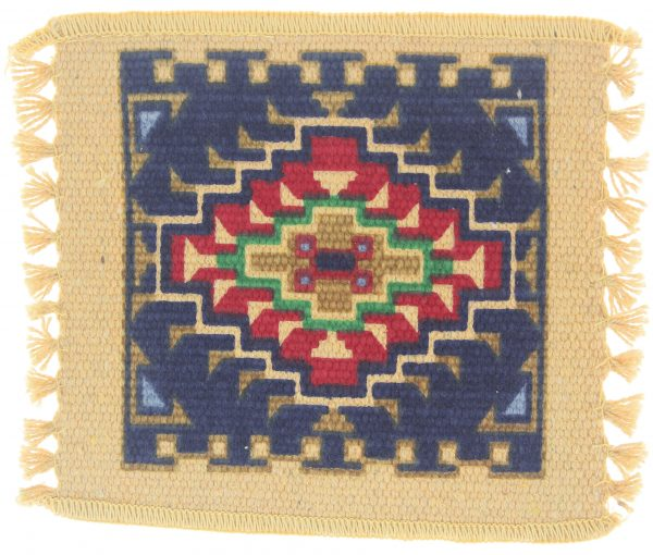 Native American Tapestry Designed Coaster