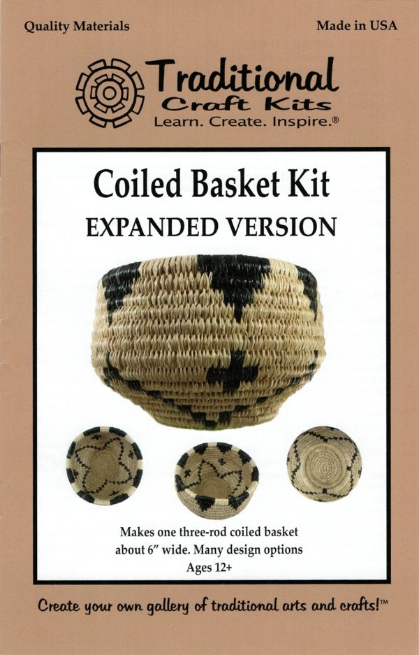 Coiled Basket Kit - Expanded Version