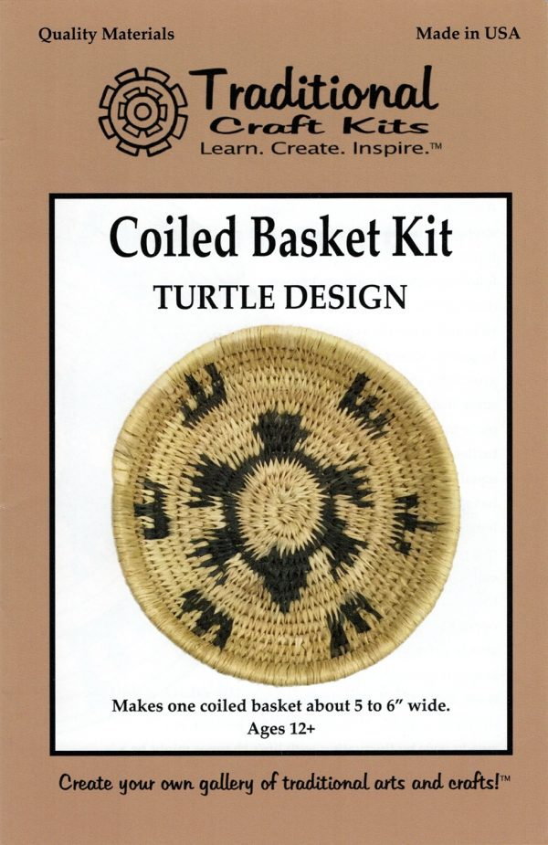 Coiled Basket Kit - Turtle Design