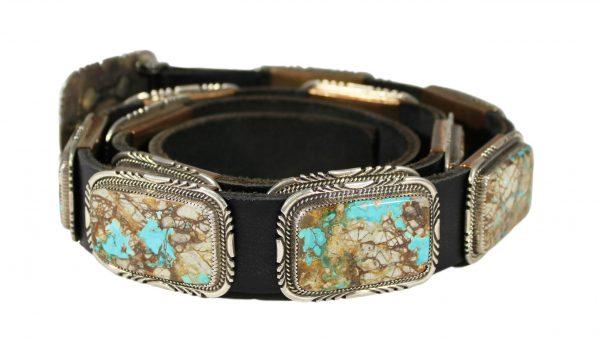 Turquoise Concho Belt - CB4