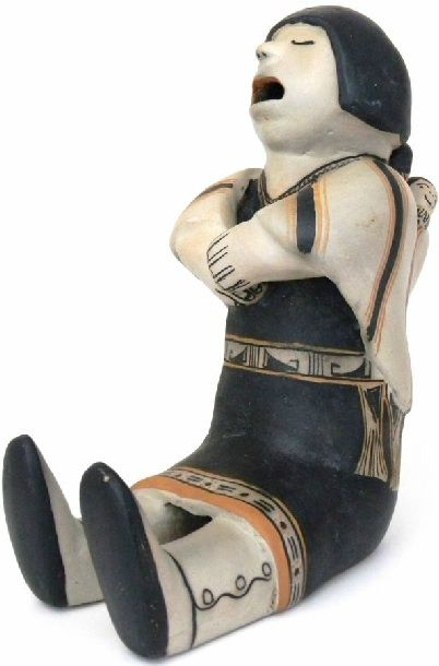 Helen Cordero Antique Cochiti Storyteller Doll