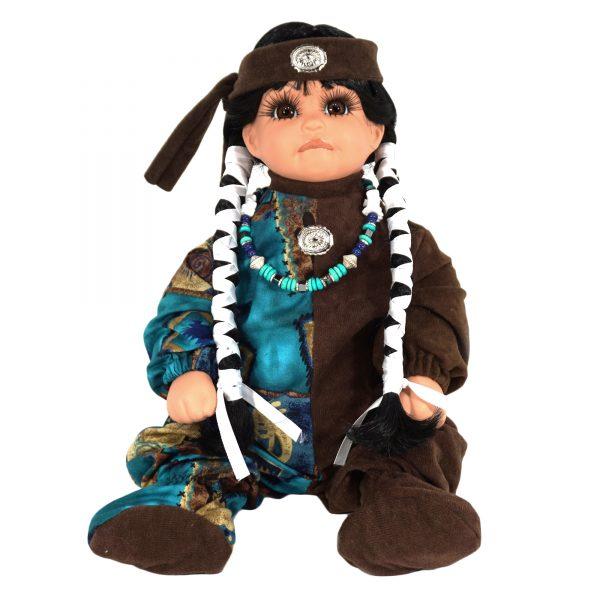 Navajo Handmade Porcelain Doll