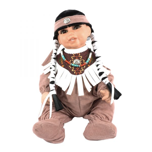 Navajo Handmade Porcelain Dolls
