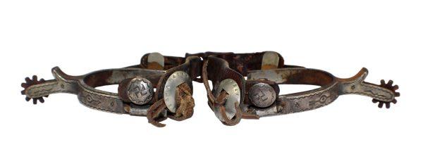 E652 - Antique Navajo Spurs