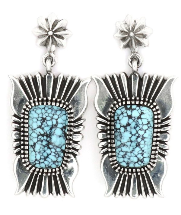 EA425 - Navajo Earrings by Ron Bedonie