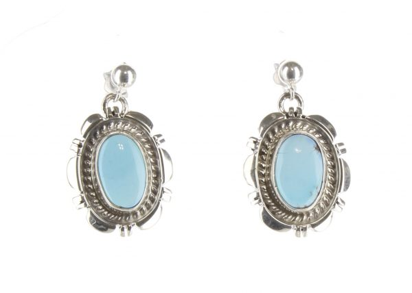 Golden Hills Turquoise, Navajo Earrings