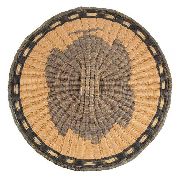 Hopi Butterfly Wicker Plaque