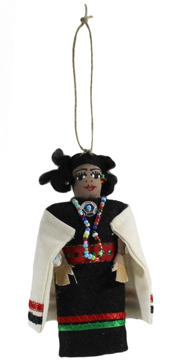 Hopi/ Zuni Lady Ornament