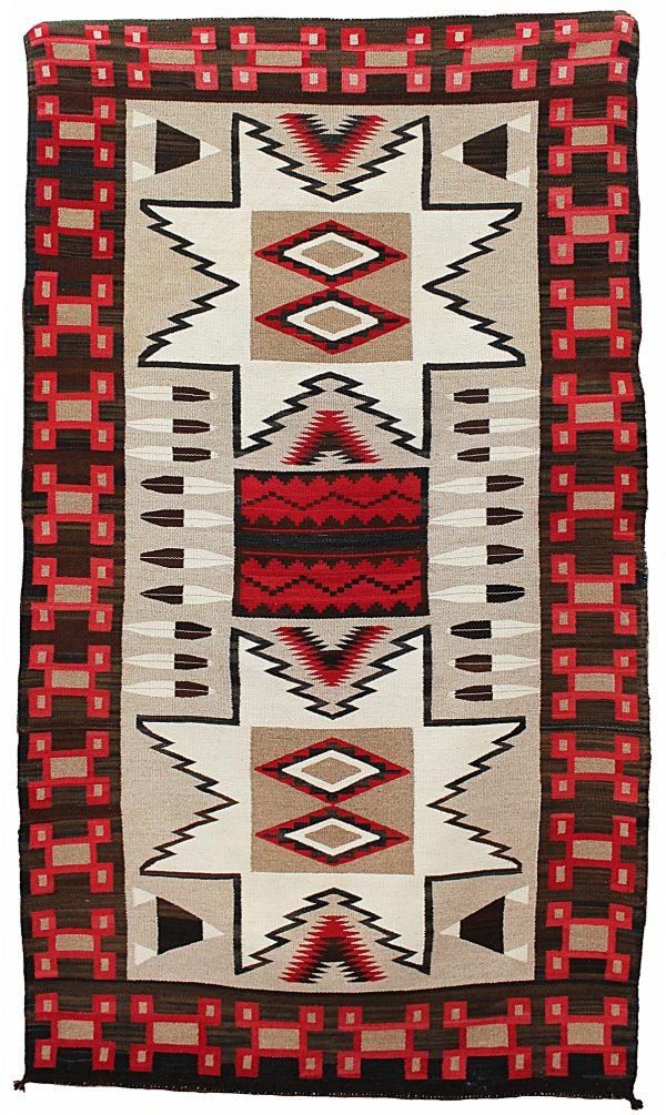 Vintage Navajo Pictorial Rug