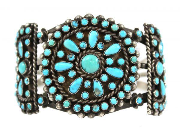 Old Pawn Zuni Cluster Bracelet