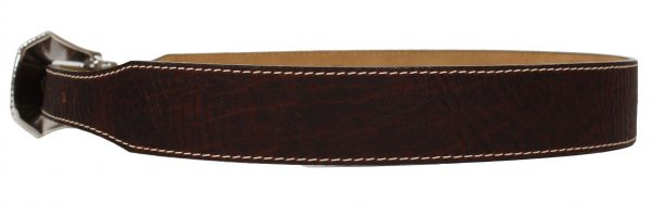 Justin Broken Arrow Western Leather Belt